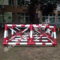114管大型移动防冲撞围栏拒马